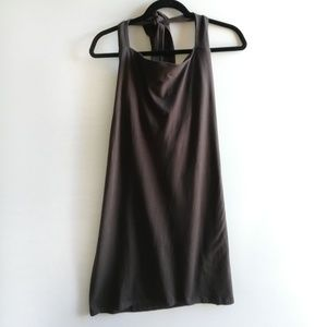 Victoria Secret Brown Halter Bra Top Dress